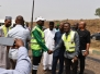MD Inspection of Maintenance Works Along Abuja-Keffi Road, 24th January, 2018